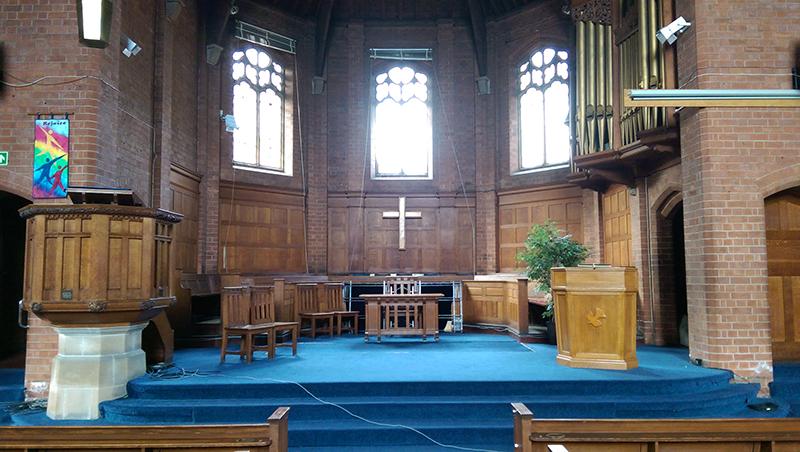 Sanctuary - Pulpit